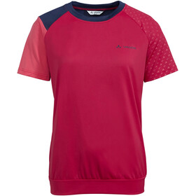 VAUDE Moab V Shirt Women, cranberry